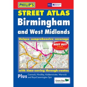 Philip's Street Atlas Birmingham and West Midlands: Pocket