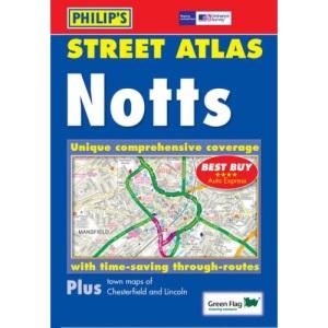 Philip's Street Atlas Nottinghamshire: Pocket (Pocket Street Atlas)