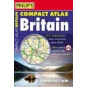 Philip's Compact Atlas Britain (Road Atlases)