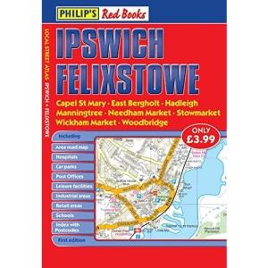 Philip's Red Books Ipswich and Felixstowe