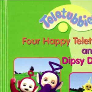 Four Happy Teletubbies and Dipsy Dances - 2 Tales from Teletubbyland