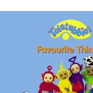 Favourite Things - Jigsaw Book: Jigsaw Book: Favourite Things (Teletubbies: Jigsaw Book: Favourite Things)