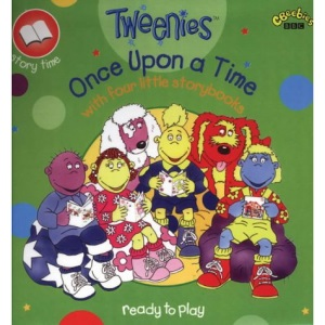 Tweenies- Once Upon a Time - with Four Little Storybooks(Pplcwoj) (Tweenies S.)