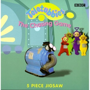 Teletubbies: The Chasing Game - Jigsaw Board Book