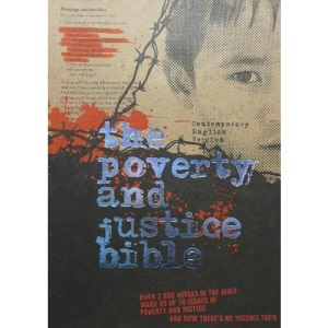 Poverty and Justice Bible-CEV (Contemporary English Version Bibles)