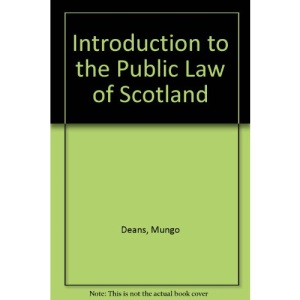 Introduction to the Public Law of Scotland