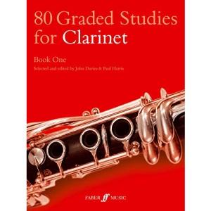 80 Graded Studies for Clarinet: Bk. 1