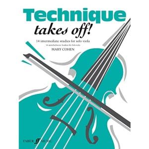Technique Takes Off!: (Solo Viola)