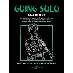 Going Solo: Clarinet - First Performance Pieces for B flat Clarinet and Piano
