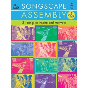 Songscape Assembly (Voice & Piano with 2 Free Audio CD's) [Songscape Series]: 21 Songs to Inspire and Motivate