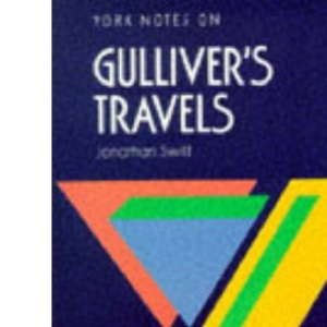 York Notes on Gulliver's Travels By Jonathan Swift Pb