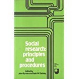 Social Research: Principles and Procedures (Set books/Open University)