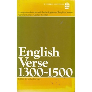 English Verse, 1300-1500 (Longman annotated anthologies of English verse)