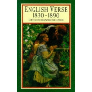English Verse, 1830-90: Vol 6 (Longman Annotated Anthologies of English Verse)
