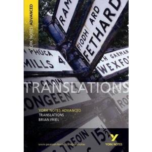 Translations (York Notes Advanced)
