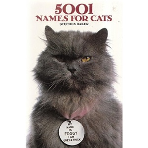 5001 Names for Cats (Panther Books)