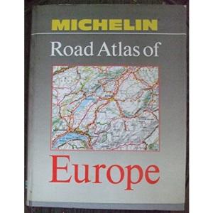 MICH ROAD ATLAS EUR 90(A)