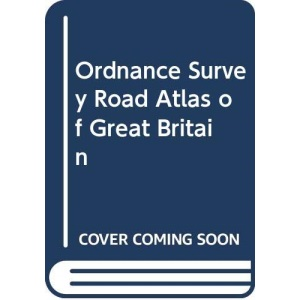 OS ROAD ATLAS OF GB (92) hardback