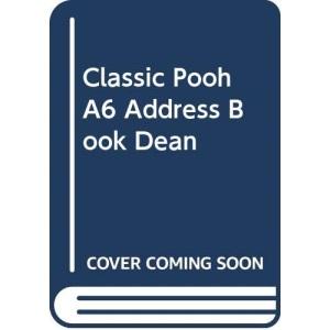 Classic Pooh A6 Address Book Dean