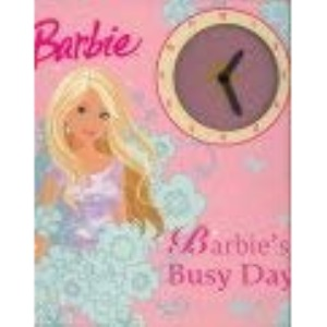 Barbie Tell the Time with Me (Clock Book)