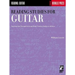 Reading Studies for Guitar (positions one through 7 and multi position studies in all keys)