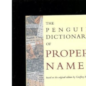 The Penguin Dictionary of Proper Names