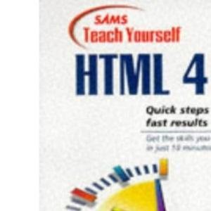 Teach Yourself HTML in 10 Minutes (Sams Teach Yourself)