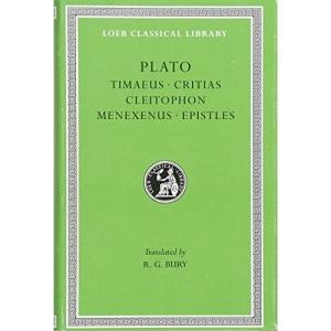 Timaeus. Critias. Cleitophon. Menexenus. Epistles (Loeb Classical Library 234) (Loeb Classical Library *CONTINS TO info@harvardup.co.uk)
