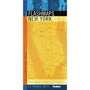 New York: The Ultimate Street and Information Finder (Fodor's Flashmaps)