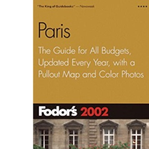 Paris 2002 (Fodor's 2002)