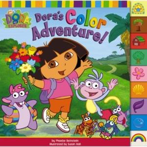 Dora's Colour Adventure! (Dora the Explorer)