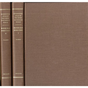 Barrington Atlas of the Greek and Roman World: Directory (2 Vol Set)