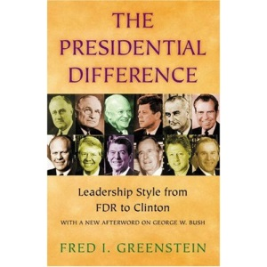 The Presidential Difference: Leadership Style from F.D.R. to Clinton (Princeton paperbacks)