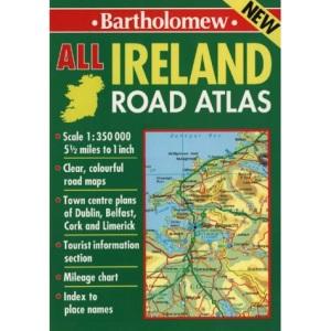 Bartholomew Road Atlas All Ireland