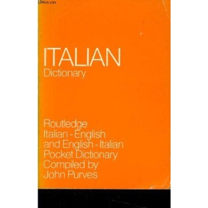 Italian Dictionary: Italian-English and English-Italian Pocket Dictionary