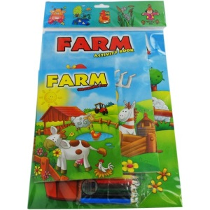 Farm Colouring and Activity Book