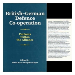 British-German Defence and Security Cooperation