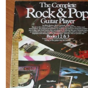 The Complete Rock and Pop Guitar Player: Books 1-3 (Zzz)