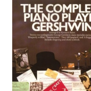 COMPLETE PIANO PLAYER GERSHWIN PVG BOOK (The complete piano player)