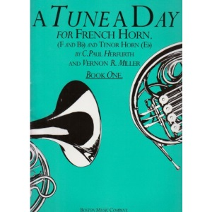 A Tune a Day for the French Horn: Book 1