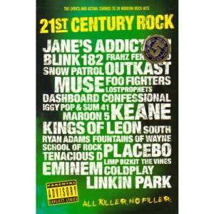 21st Century Rock Chord Songbook: Bk. 5