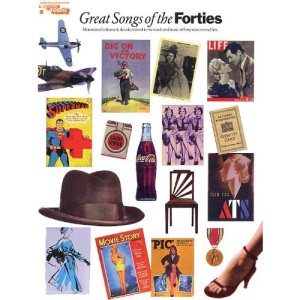 E-Z PLAY TODAY VOLUME 8 GREAT SONGS OF THE FORTIES MLC BK/CD