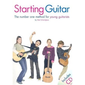 Starting Guitar: The Number One Method for Young Guitarists (Book & CD)