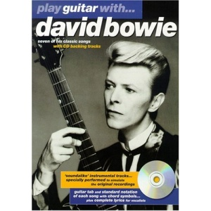 Play Guitar with David Bowie Music Book & CD