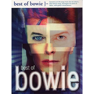 The Best of Bowie: Piano Voice and Guitar