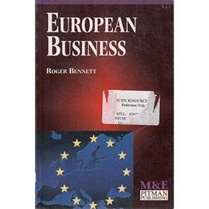 European Business (M&E Handbooks Series)