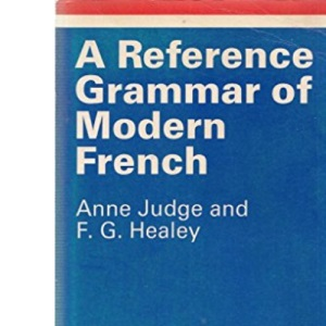 A Reference Grammar of Modern French