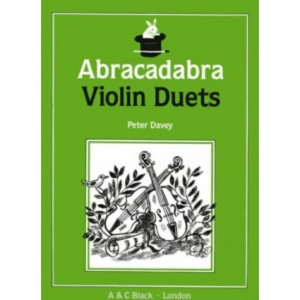 Abracadabra Violin Duets (Instrumental Music)