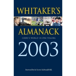 Whitaker's Almanack: 135th Annual Edition. Standard Edition