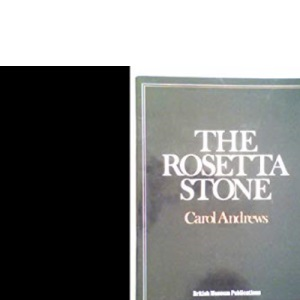 The Rosetta Stone (Egyptian)